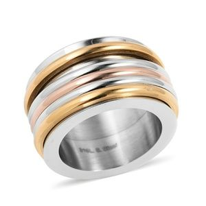 Jewelry - ION PLATED STAINLESS STEEL RING